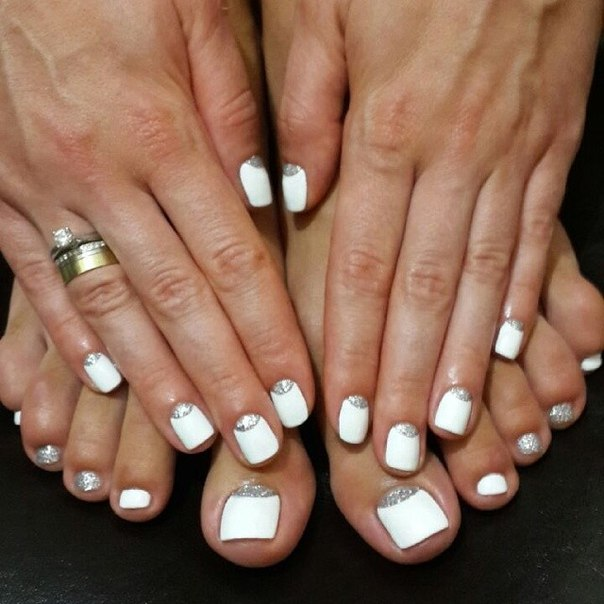 Gel nails art pictures